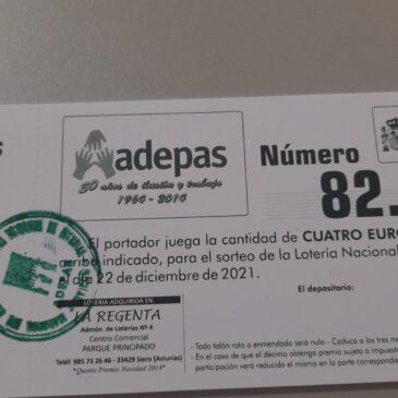 ADEPAS TIENE LOTERIA DE NAVIDAD !!